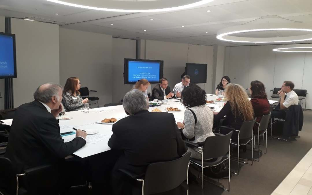 Lisa Cameron MP chairs Round Table on Business Networks at The Shard