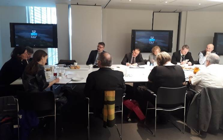 Lord Kevin Shinkwin chairs Round Table on Growth Sectors at The Shard