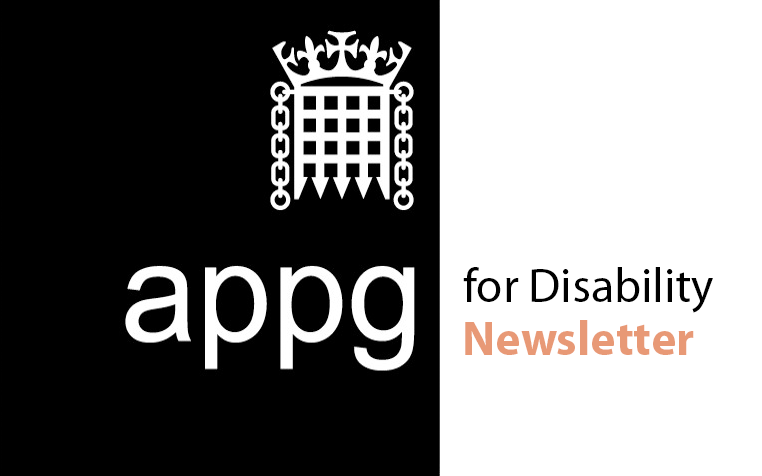 APPG for Disability newsletter disseminates disability@work COVID-19 research to all Parliamentarians